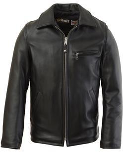 135 - Casual Weekend Pebbled Cowhide Leather Jacket (Black)