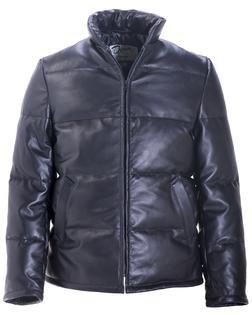 215D - Lambskin Down-filled Leather Jacket