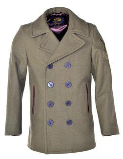 762 - Men's Wool Coat