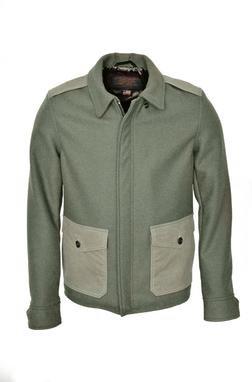 785 - 24 oz. Wool Military Jacket (olive)