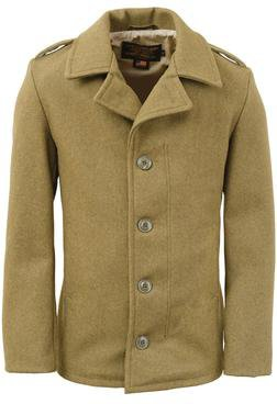 798 - M41 field coat in 24oz wool (Olive)
