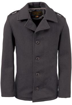 798 - M41 field coat in 24oz wool (Black)