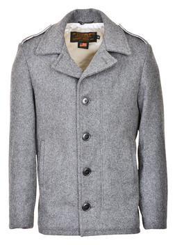 798 - M41 field coat in 24oz wool (Oxford Grey)