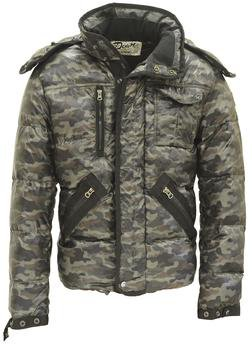 9137D - Nylon Down Fill Technical Foul Weather Jacket (Camo)