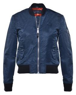 Navy Women's Flight Jacket