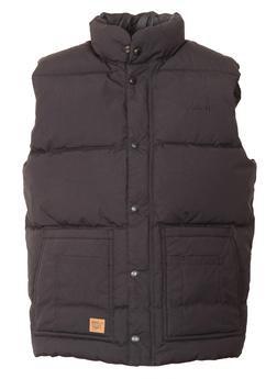 9356DV - Down Filled Vest with Patch Pockets (Black)