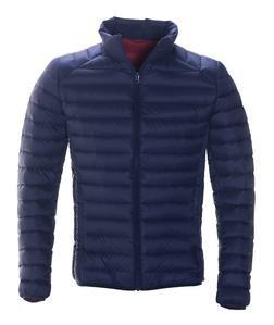 9510D - Nylon Ultra Light Down Filled Silverado Jacket Stand Collar (Navy)