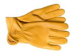 A103 - Elkskin Leather Gloves (Gold)