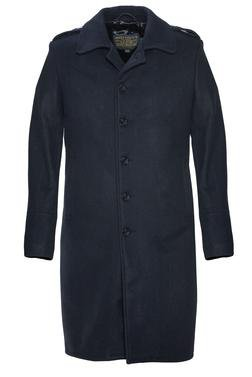 C729 - Single Breasted Wool Officer's Coat