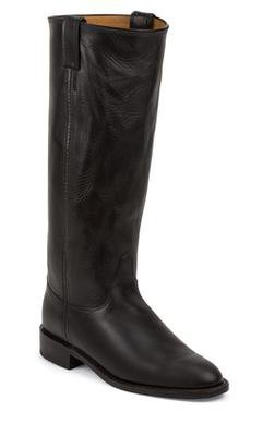 "W64BW - Chippewa Women's 15"" Roper Boots (Black)"
