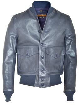 P2484 - A-1 Flight Jacket (Navy Blue)