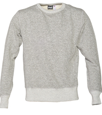 PF01 - Men's Crew Neck Sweatshirt (Heather Grey)