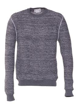 PF06 - Men's 100% Cotton Crewneck Pullover (Charcoal)