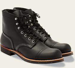 "R8114 - Red Wing Men's 6"" Iron Ranger boot"