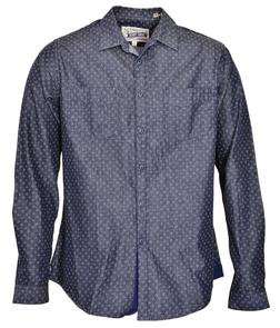 SH1427 - Work Shirt With Pockets (Dots)