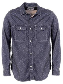 SH1501 - 100% Cotton Work Shirt (Navy)