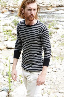 K501 - Men's Cotton Crewneck Shirt (Black)