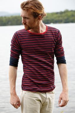 K501 - Men's Cotton Crewneck Shirt (Navy)