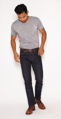 BART32 - Barton Rigid - Slim Straight Selvage Denim
