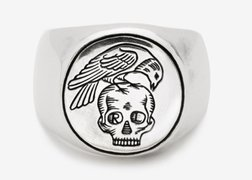 RCROW - All Men Must Die Ring