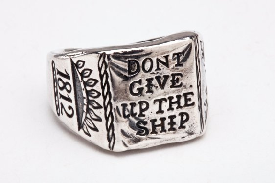 RSHIP - Digby & Iona Don't Give Up The Ship Ring