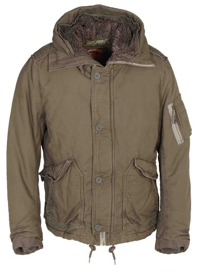 "81205 - 28"" Cotton Bedford Cord N-4 Flight Jacket (Olive)"