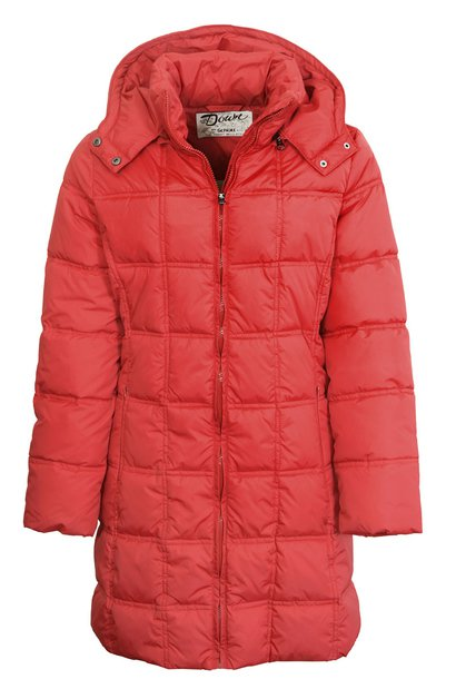 9394DW - Women's Long Down Filled Parka With Hood
