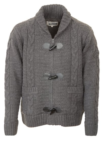 """F1328 - 26"""" Wool/Acrylic Blend Cable Knit Sweater"""